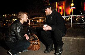 Berliner Stadtmission Obdachlose Kaeltehilfe