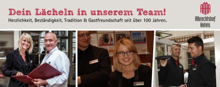 Ausbildung Albrechtshof Hotels Berlin