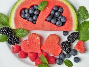 Wassermelone ausstechen